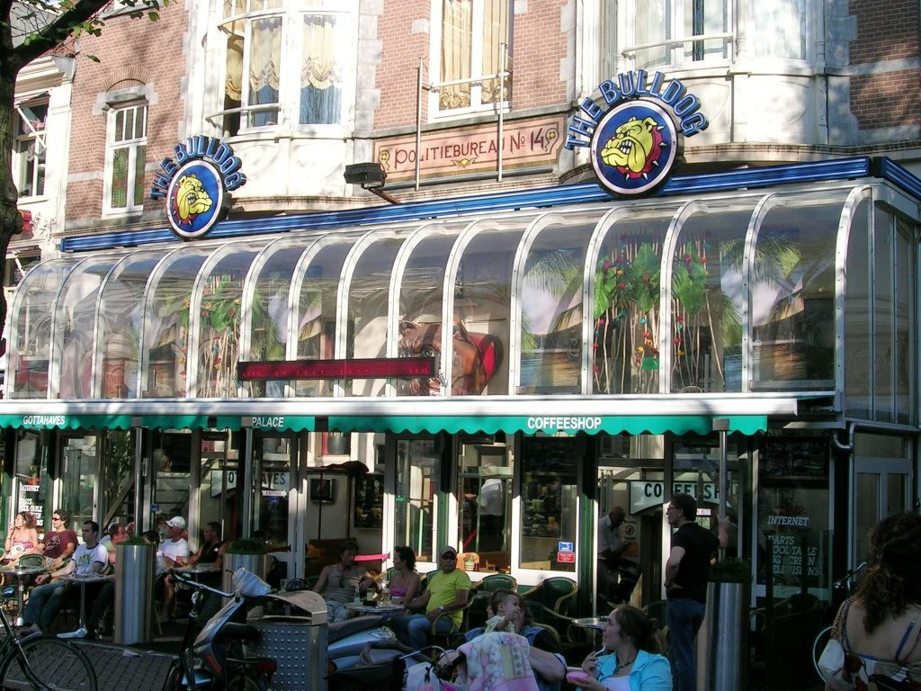 The Bulldog Cafe in Leidseplein, Amsterdam