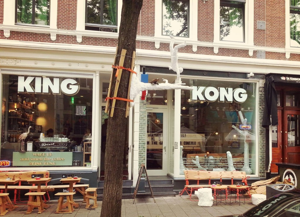 King Kong Hostel on Witte De Withstraat in Rotterdam