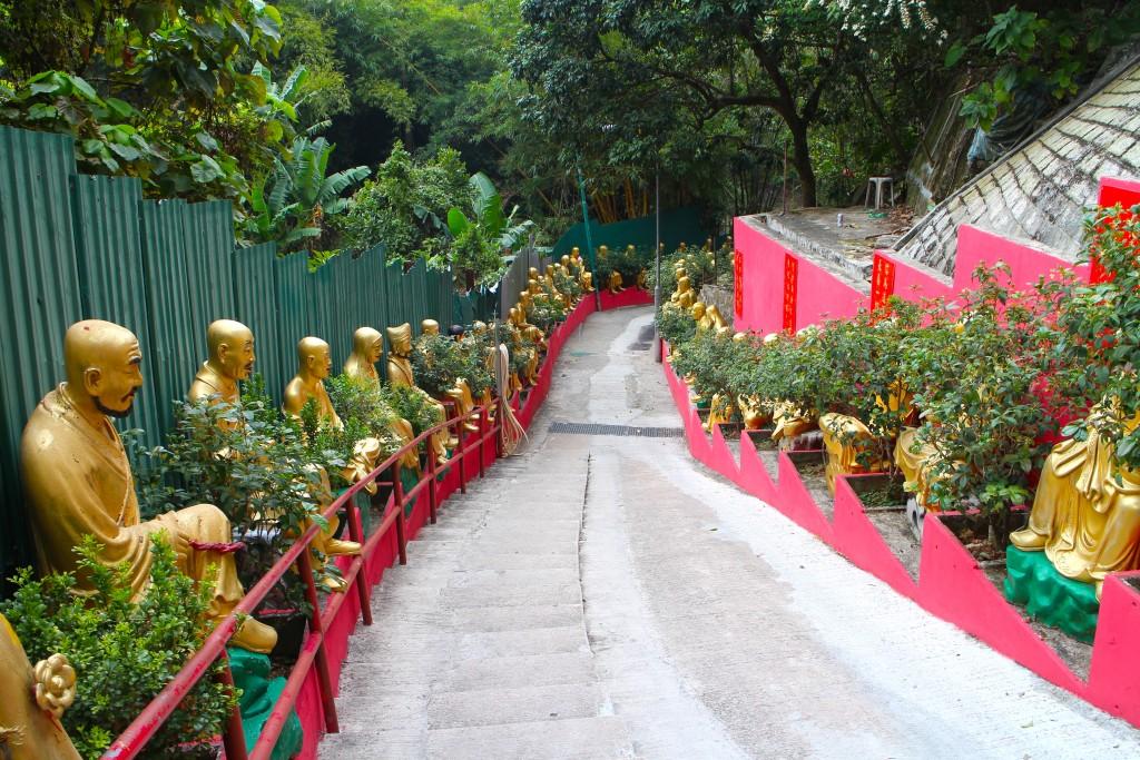 Pic of 10,000 Buddhas taken while traveling through H.K.