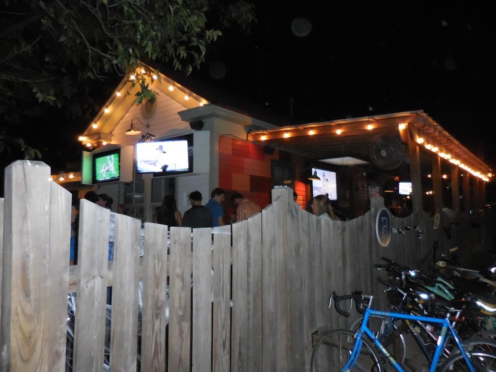 Pic of a bar on Rainey Street taken while traveling through Austin, Texas