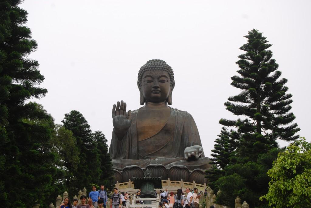 Pic. of Big Buddha taken while traveling through H.K.