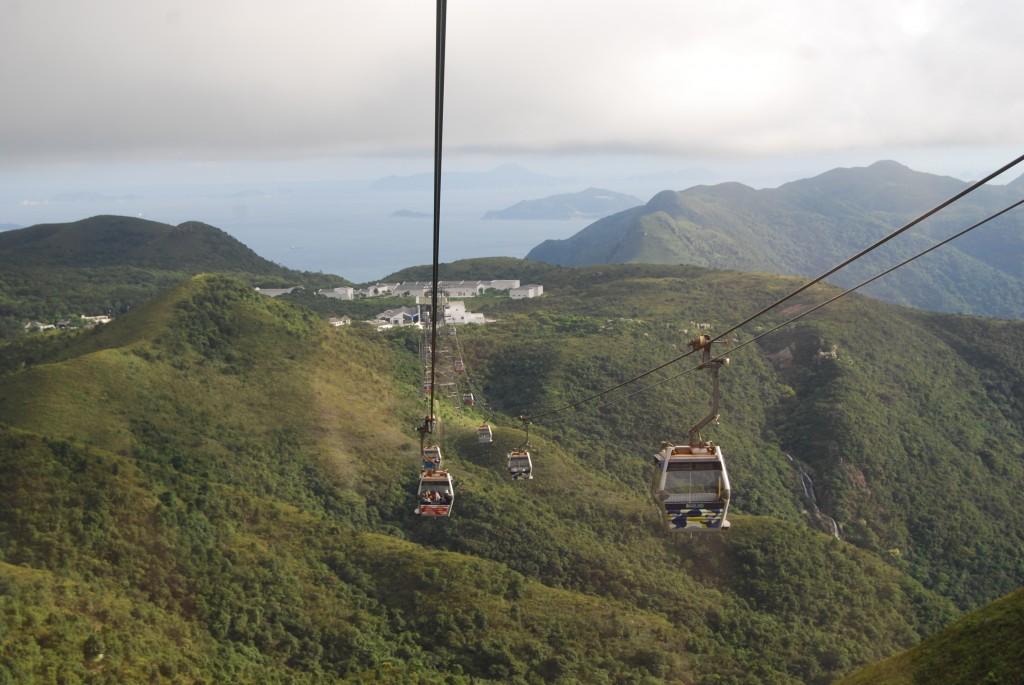 Pic of H.K. Gondola taken while traveling through H.K.