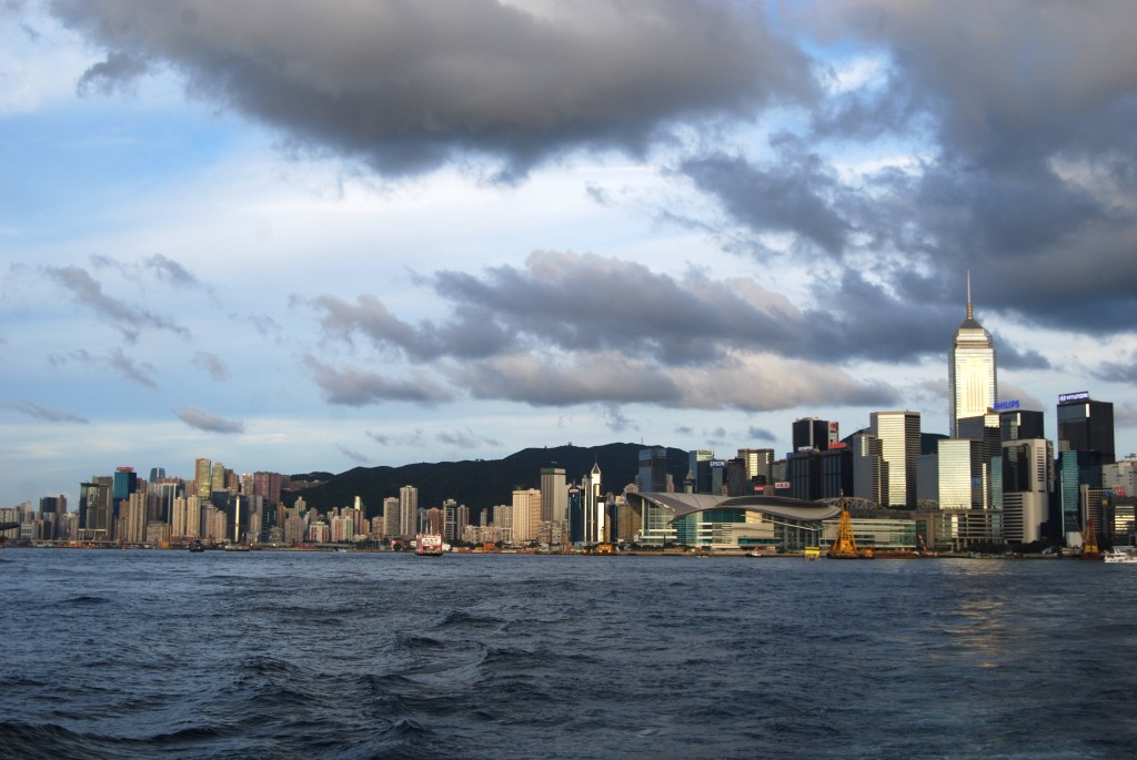 Picture of Hong Kong taken while traveling through Asia