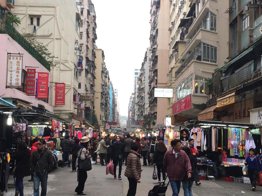 Pic of HK Market taken while traveling through H.K.