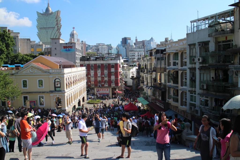 Pic of Macau taken while traveling through Asia