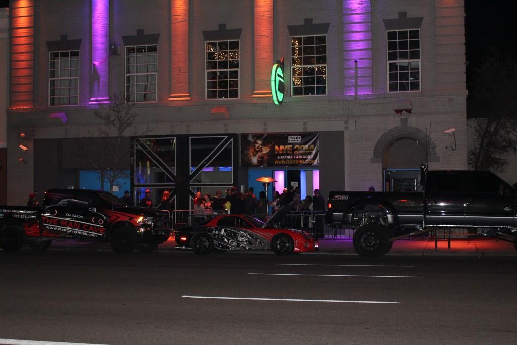 Pic of Vinyl Nightclub taken while traveling through Denver