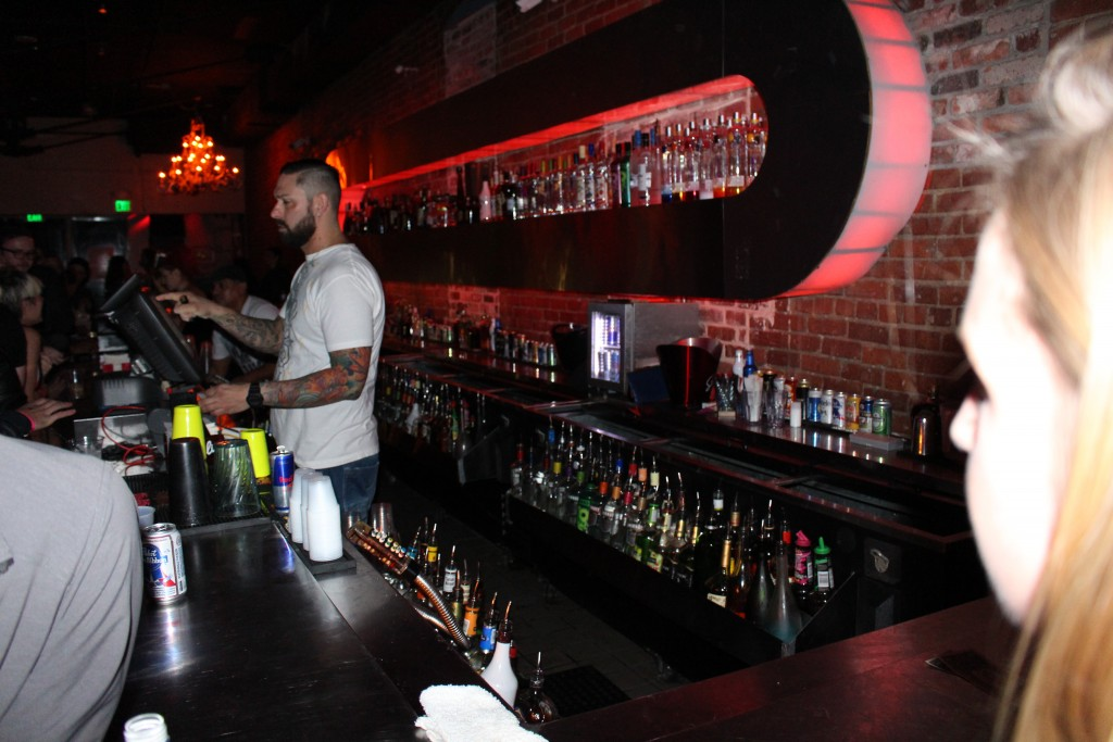 Pic of the Bar at Vinyl nightclub