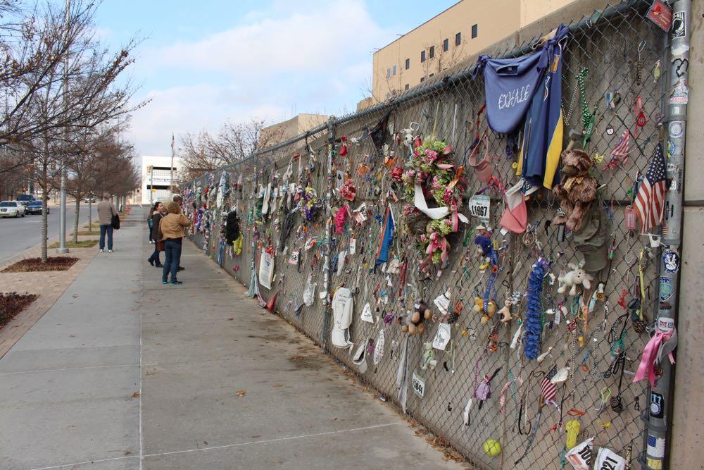 Pic of OKC memorial taken while traveling through OKC
