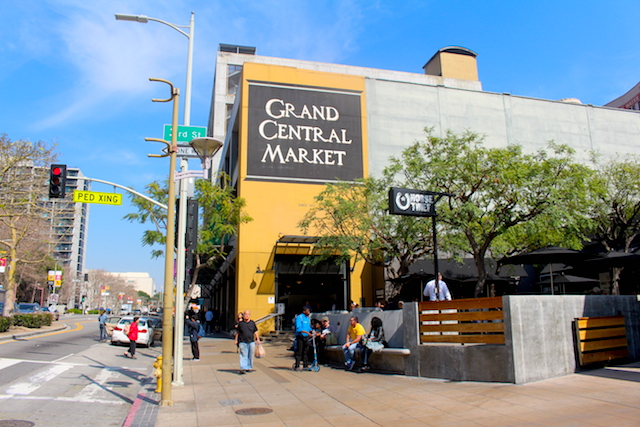 The Grand Central Market Downtown Los Angeles