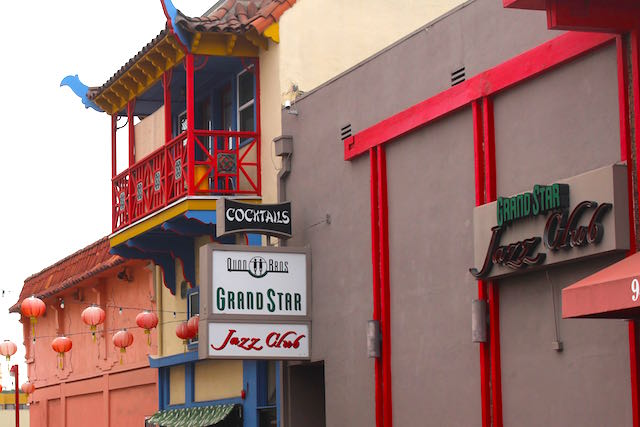 The Grandstar Jazz Club in Chinatown Los Angeles