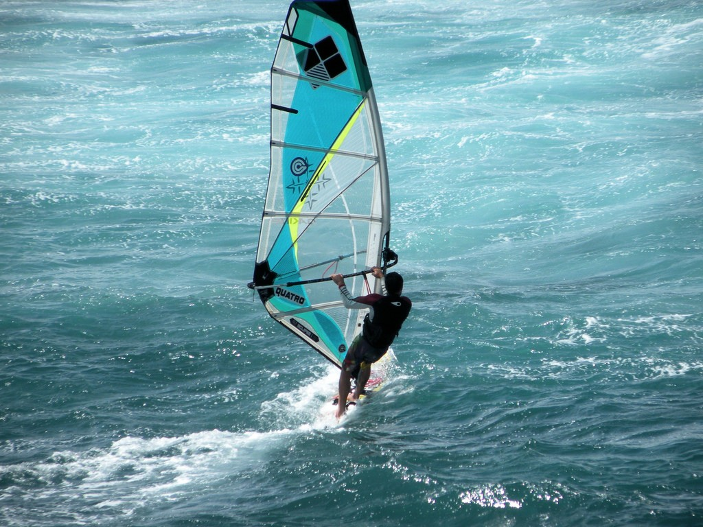 Water sports in San Andres Colombia