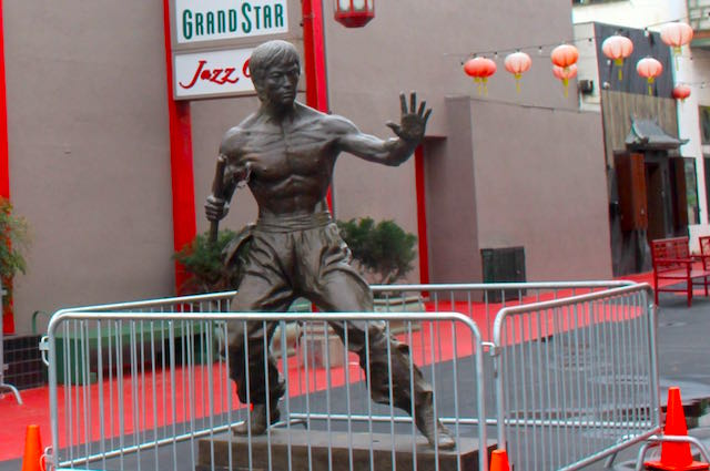 Pay Homage To The Statue Of The Legendary Bruce Lee