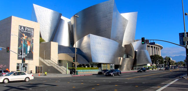 The Walt Disney hall is famed for brilliant music by the L.A. Philharmonic