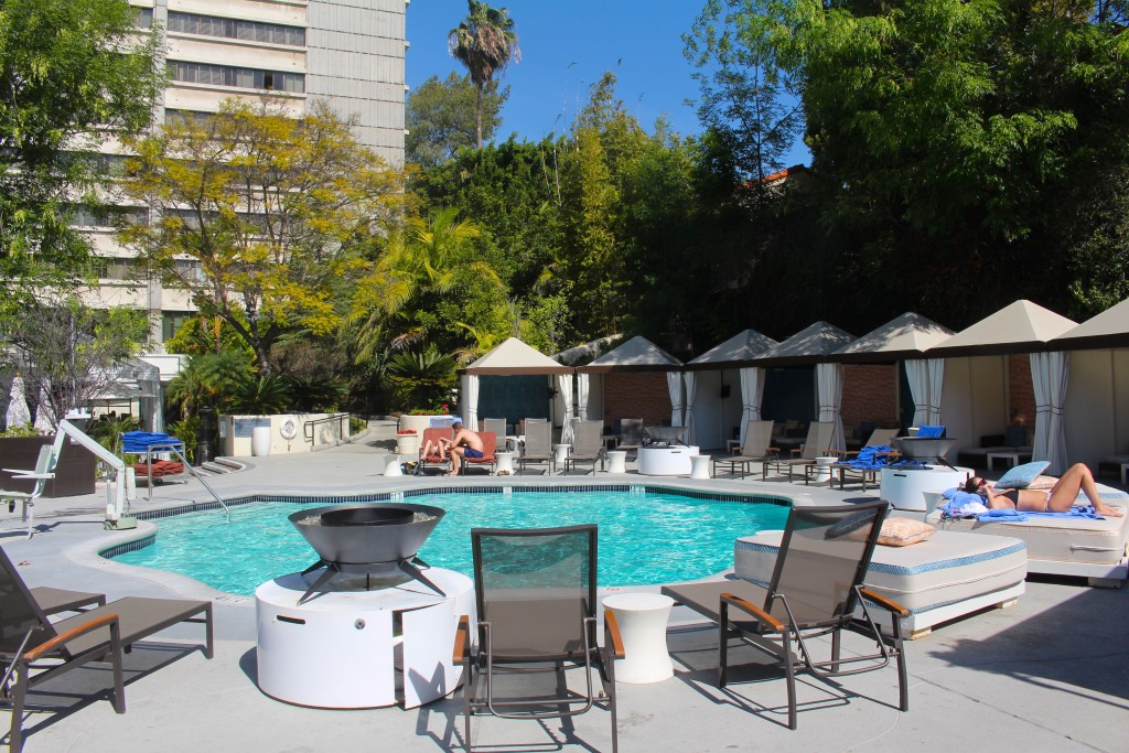 The Backyard At The W Hotel Westwood  Los Angeles