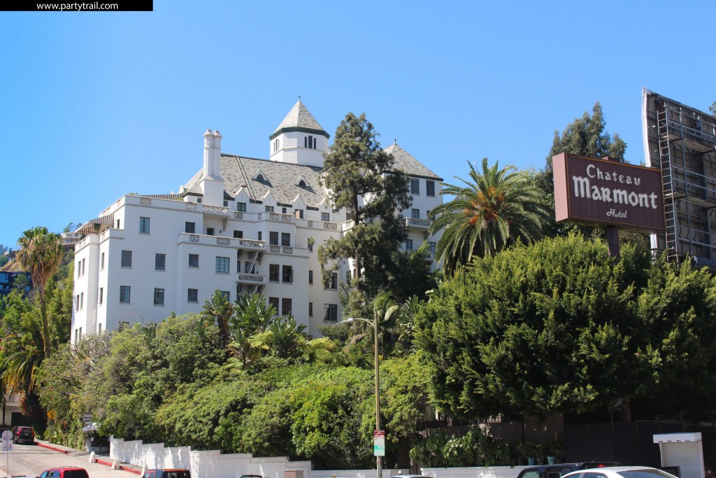 Chateau Marmont Sunset strip Hollywood