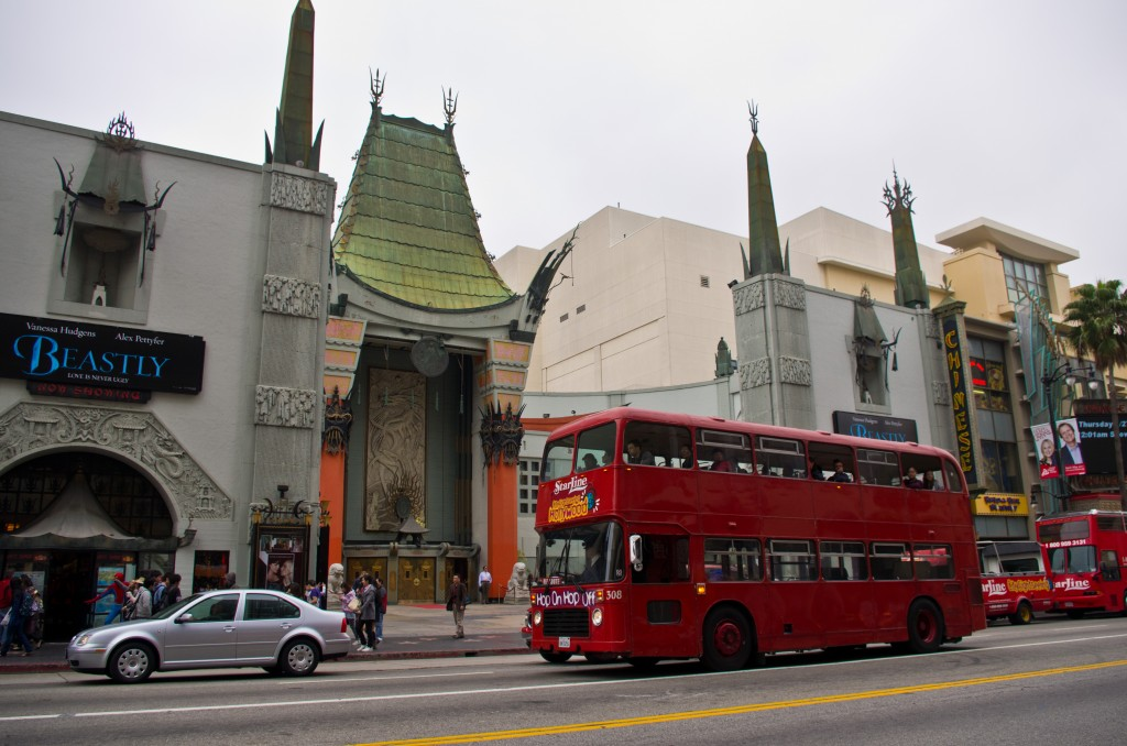 The Grauman's Chinese Theatre