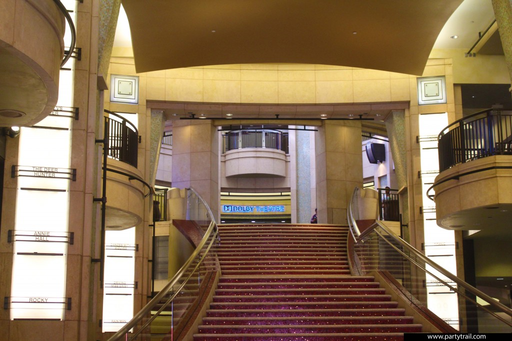 The Dolby Theatre on Hollywood Blvd.