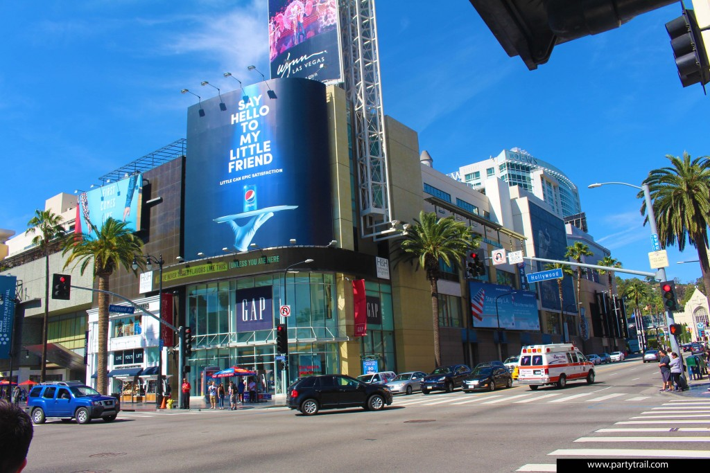 The Hollywood and Highland Shopping Center In Hollywood, California