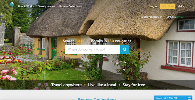 Home exchange is great for travelers who want exchange homes for free accommodation abroad.