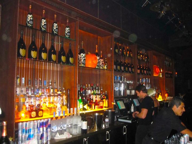 A Snapshot of A nightclub in Hollywood California