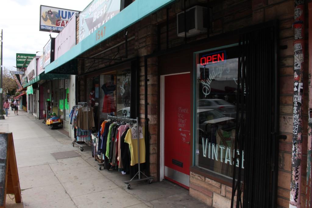 Shop At An Echo Park Vintage Shop