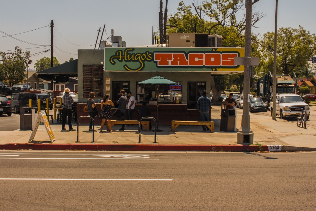 Taco Stands are just as synonymous with L.A. as Celebrities are.