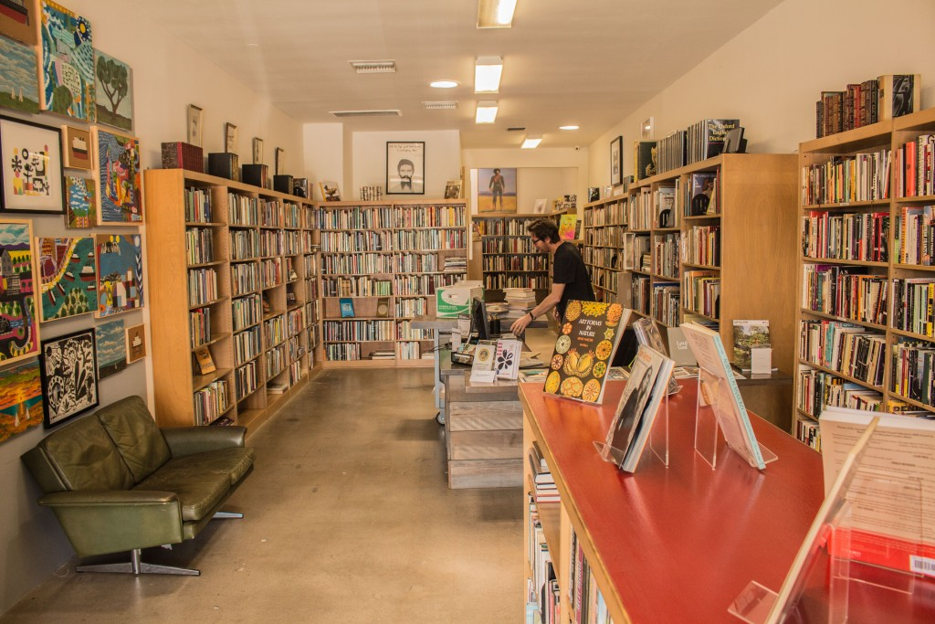 Shop at a friendly local bookstore