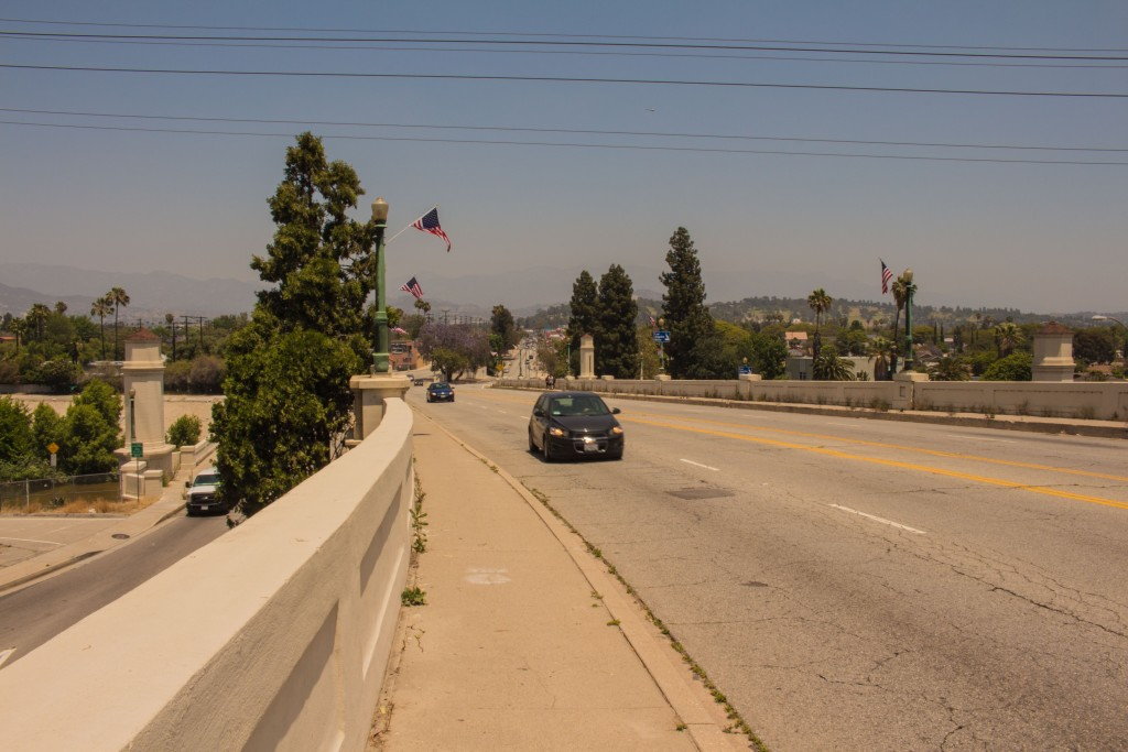The Bridge Separating Atwater Village and Silver Lake