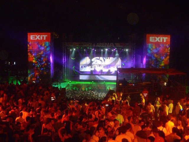 The Exit Music Festival In Novi Sad Serbia