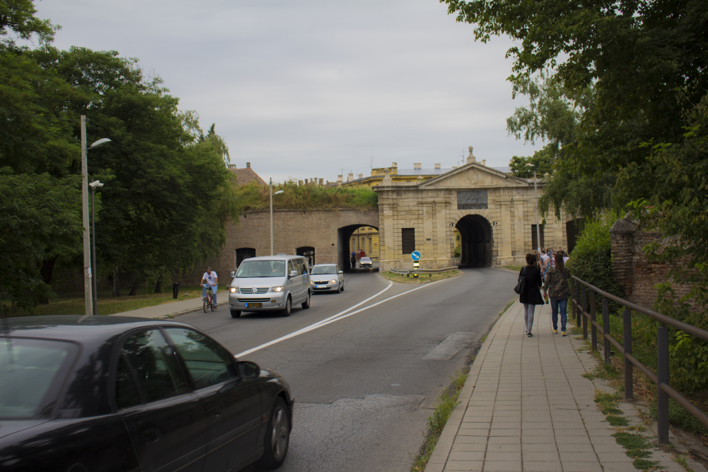 The Gateway To The Petrovaradin Fortress