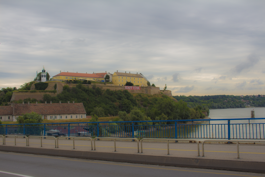 The Petrovaradin Fortress where the Exit Festival is Held Each Year