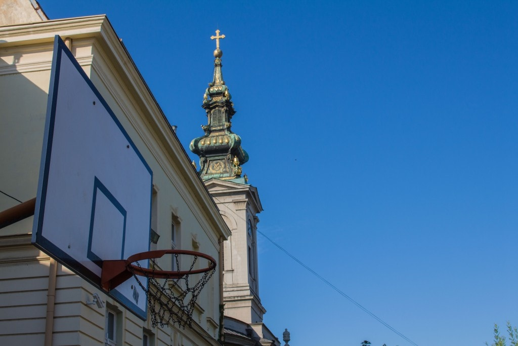 Christianity And Basketball Are A Cornerstone Of Serb Culture.
