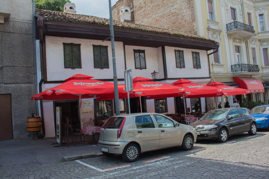 "The ""?"" Restaurant, One Of The Oldest In Serbia."
