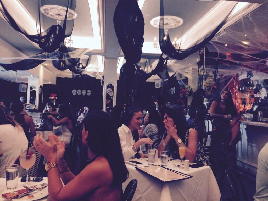 Inside Bagatelle Miami
