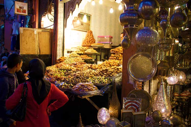The Souks Have Everything From Spices To Leather And Jewelry For Sale.