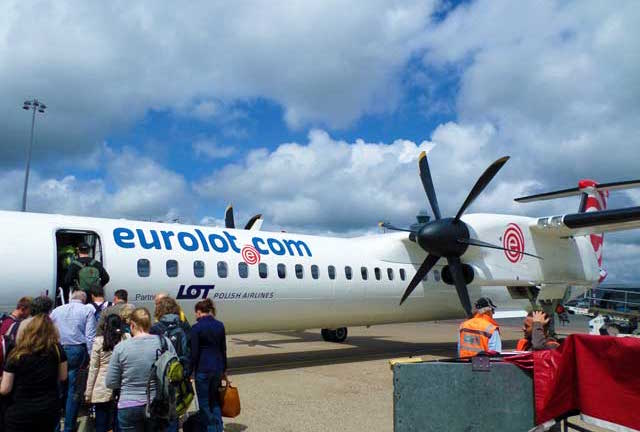 Eurolot is the primary carrier going to Krakow Poland.