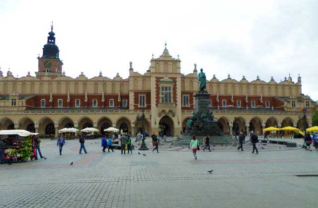 Cloth Hall In Krakow Poland Is Great For Shopping.