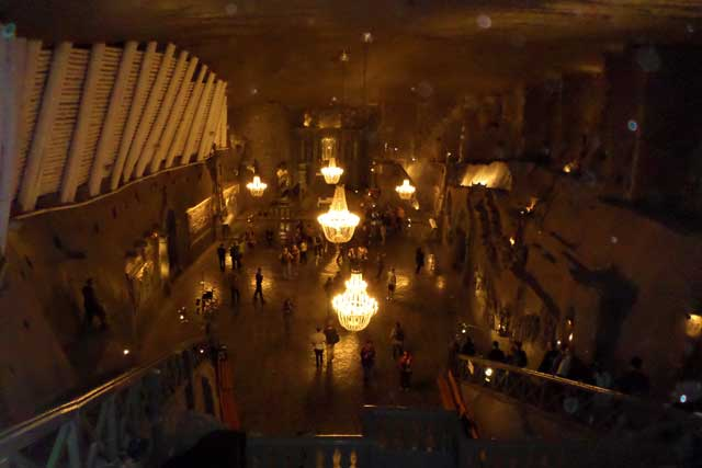 The Wieliczka Salt Mines Is One Of The Oldest Salt Mines In The World.