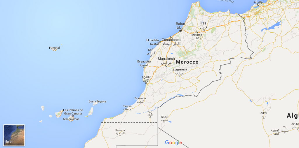 Morocco Is A Nation In The Northern-most Part Of Africa