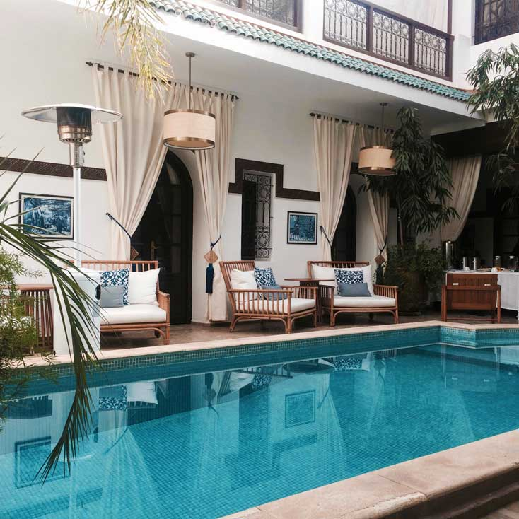 A Riad Or Guest House Is A Great Choice For Accommodation During Your Travels