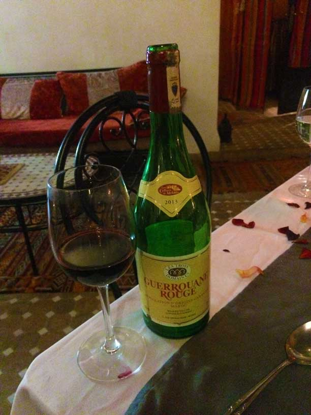 Moroccan Wine Is Made In Meknes