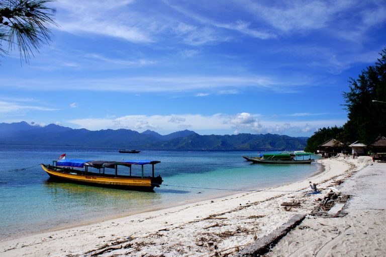 Gili Trawangan is one of three Islands that make up the Gili Islands in Indonesia.