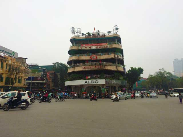 The Main Square in Hanoi Vietnam