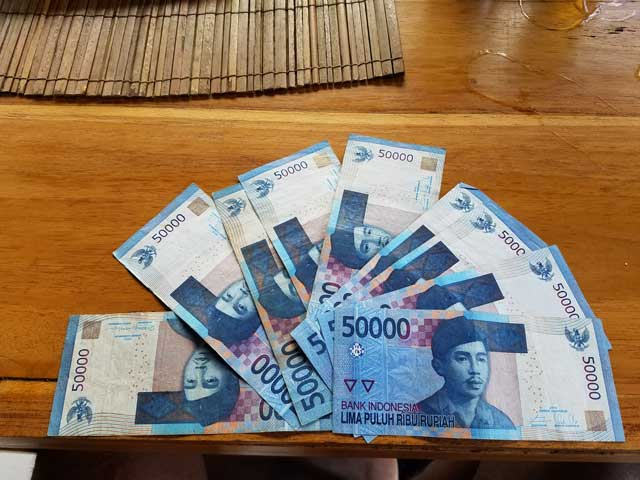 The Indonesia Rupiah Is The Currency In Indonesia. 1 U.S. Dollar Is About 14,000 Rupiah