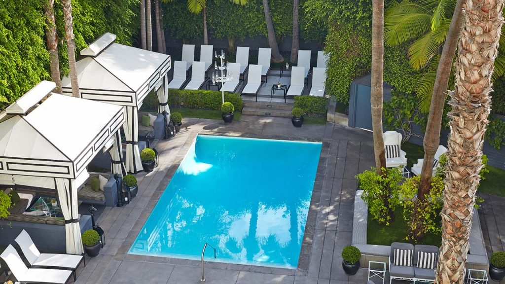 A Snapshot of the Pool At The Viceroy Los Angeles.  Photo Courtesy: viceroyhotelsandresorts.com